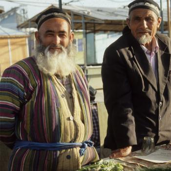 Tajik men.
