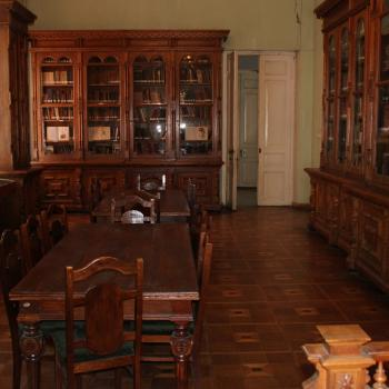 Library in the State Silk Museum