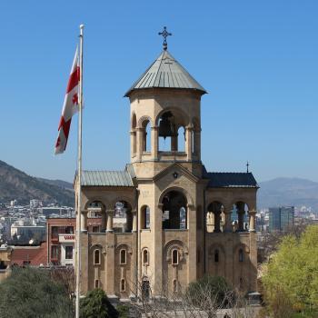 Religious monument, Central Tbilisi