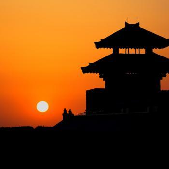 Sunset in Yangguan